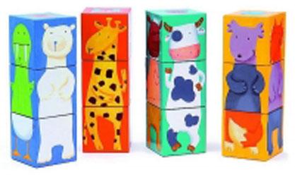 Кубики Djeco Животные08208Кубики Djeco Животные позволят весело и полезно провести время. Кубики полые собираются вертикально. Малышу очень понравятся яркие, разноцветные кубики. Они развивают мелкую моторику пальчиков рук.