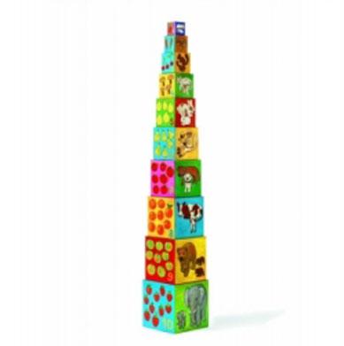 Кубики Djeco Мои друзья08506Кубики Djeco Мои друзья позволят весело и полезно провести время. Кубики полые собираются вертикально. Малышу очень понравятся яркие, разноцветные кубики. Они развивают мелкую моторику пальчиков рук.