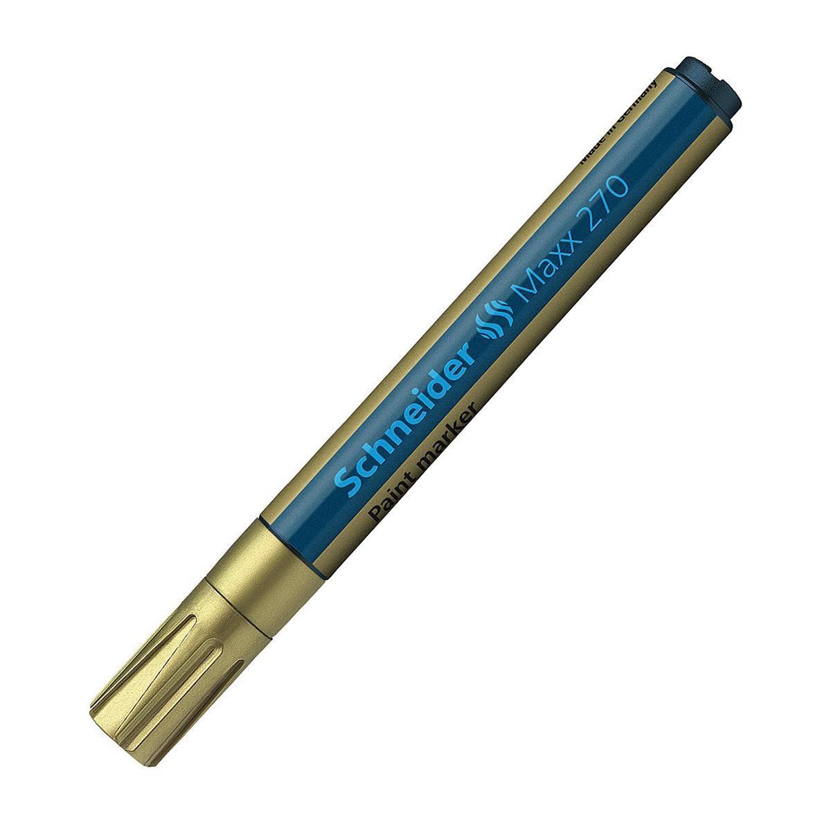 Paint marker Maxx 270; 1-3 мм, золото.S270/53 S270-01/53