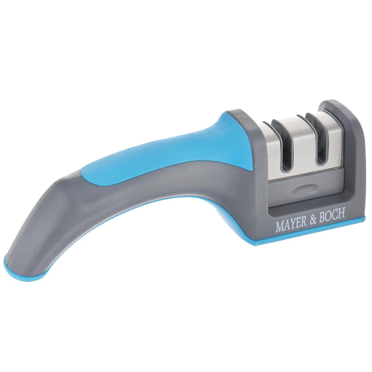 Ножеточка Mayer & Boch, цвет: голубой. 2411524115