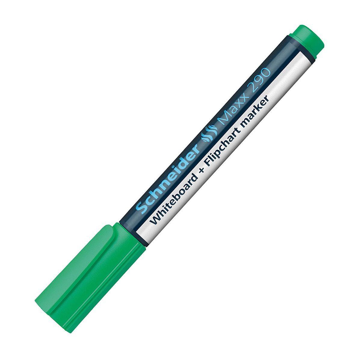 Универсальный маркер Whiteboard and Flipchart Maxx Eco 290; 1-3 мм,зеленый.
