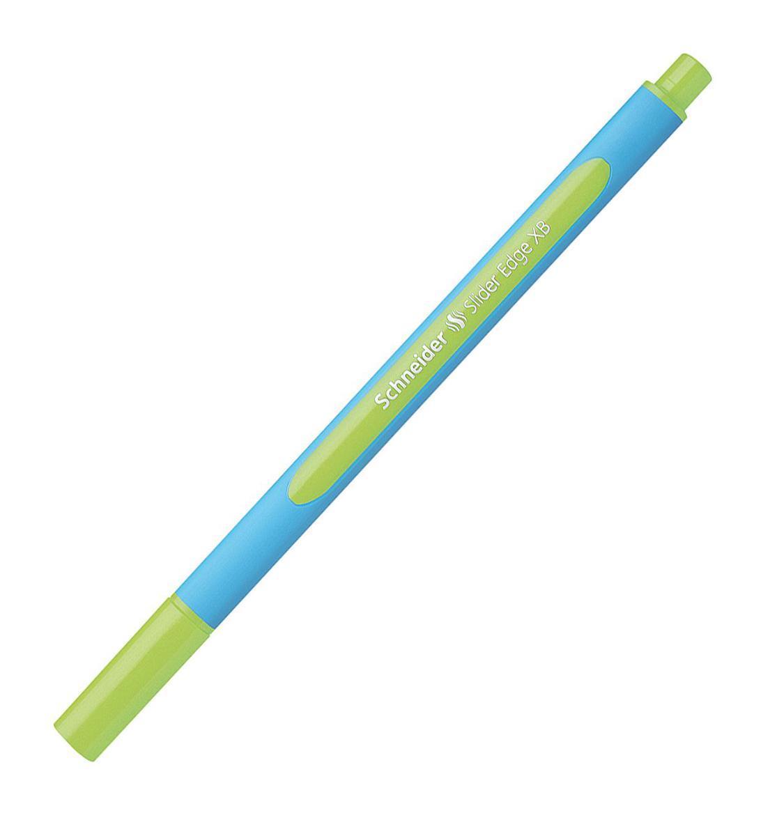 Ручка шариковая Slider Edge, XB - 1,0 мм, светло-зелёный цвет чернил.S152211 S1522-01/11
