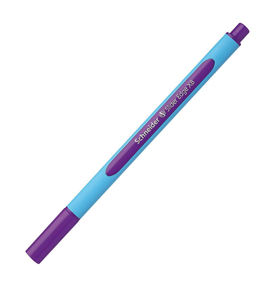 Ручка шариковая Slider Edge, XB - 1,0 мм, фиолетовый цвет чернил.S152208 S1522-01/8