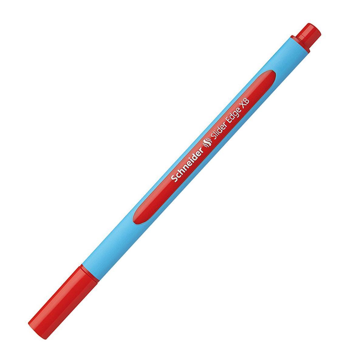 Ручка шариковая Slider Edge, XB - 1,0 мм, красный цвет чернил.S152202 S1522-01/2