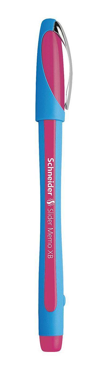 Ручка шариковая Slider Memo, XB - 1,0 мм, розовый цвет чернилS502/09 S502-01/9