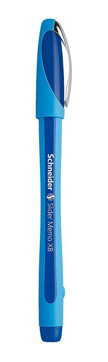Ручка шариковая Slider Memo, XB - 1,0 мм, синий цвет чернилS502/03 S502-01/3