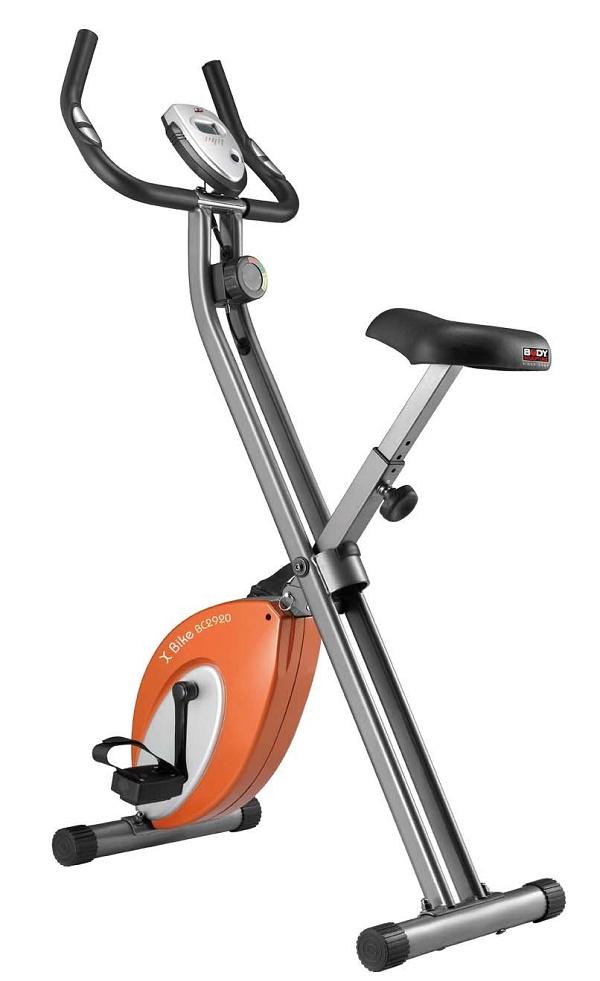 Велотренажер Body Sculpture, цвет: серый, оранжевый, 70 см х 50 см х 115 смВС-2920HKO-HВелотренажер Body Sculpture предназначен для тренировки ног. Особенности велотренажера: Магнитная система изменения уровня нагрузки Hi-tech обеспечивает плавный ход, а также бесшумную работу. Датчики измерения пульса расположены на рукоятках тренажера. Ручная регулировка нагрузки для сопротивления при тренировке. Легко и компактно складывается. Компьютер показывает: пульс, время тренировки, скорость, дистанцию, потраченные калории