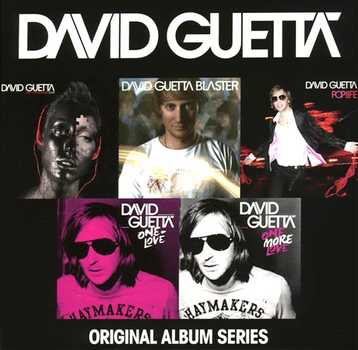 David Guetta. Original Album Series (5 CD) 2014 5 Audio CD