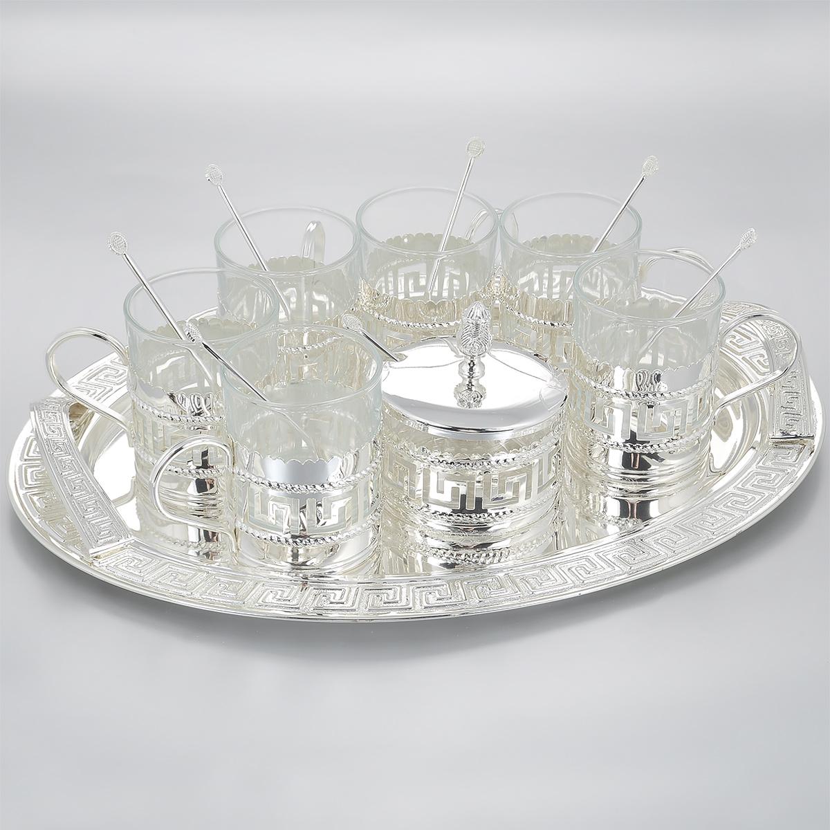 Набор чайный Marquis Versace, 15 предметов. 4001-MR
