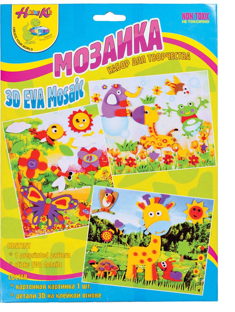 Мягкая мозаика Centrum, на клеевой основе84190_бабочки