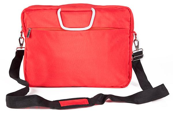 Сумка Hatber Business Lady, с отделением для ноутбука, цвет: красныйNSn_00331Стильная сумка Hatber Business Lady подойдет для современных и мобильных людей. Сумка выполнена из нейлона и имеет одно вместительное основное отделение на застежке-молнии, внутри которого расположено отделение для ноутбука, фиксирующееся на ремне-липучке, а также два небольших кармана для разных мелочей и аксессуаров. На внешней стороне сумки имеется дополнительное отделение на молнии. На обратной стороне сумки имеется отделение, которое закрывается на застежку-молнию и подойдет для хранения и переноски разнообразных документов. Сумка оснащена двумя удобными ручками и съемным плечевым ремнем регулируемой длины.