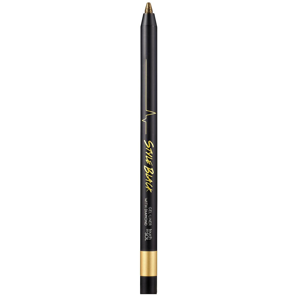 Touch in Sol Гелевый карандаш для глаз Style Black, оттенок №3 Gold, 0,5 гУТ000000762Ультрастойкий гелевый карандаш сохраняет макияж безупречным в течение всего дня. Молочный протеин и успокаивающий цветочный экстракт заботливо ухаживают за кожей, хорошо подходит для особо чувствительных глазах. Кремовый контурный карандаш поможет вам придать взгляду очаровательную выразительность. Благодаря его текстуре вы сможете контролировать яркость и толщину линии, растушевав карандаш создать загадочный образ Смоки Айз. Товар сертифицирован.
