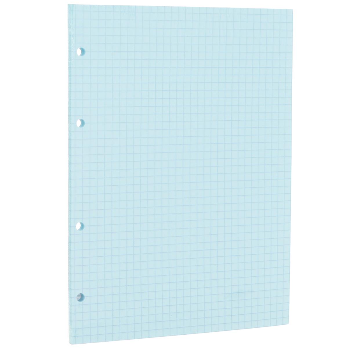 Сменный блок в клетку Erich Krause, для тетрадей на кольцах, цвет: голубой, 80 листов32993Сменный блок Erich Krause предназначен для тетрадей с кольцевым механизмом. Листы выполнены из бумаги голубого цвета в синюю клетку.