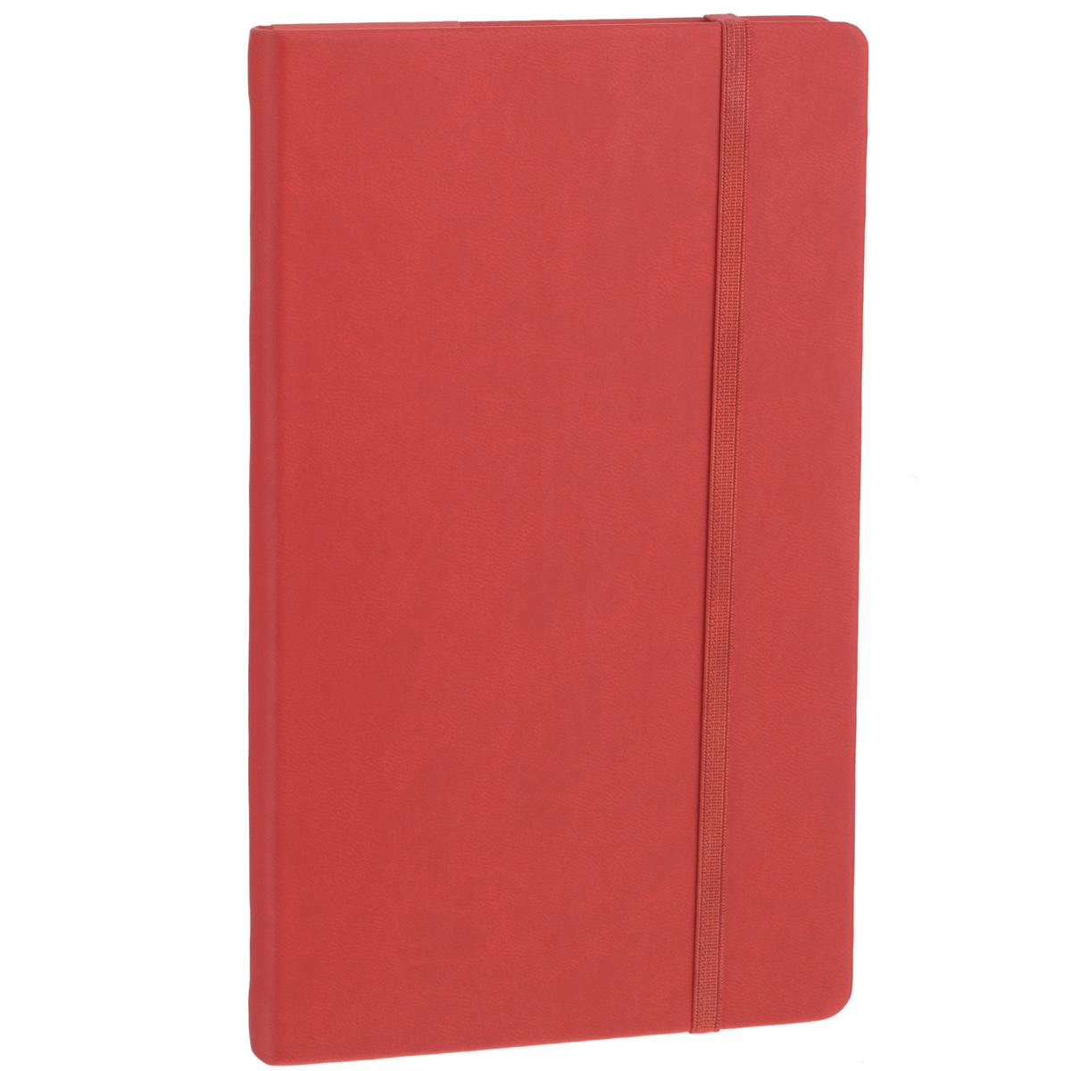 Записная книжка Erich Krause Festival, цвет: красный, 96 листов36758Записная книжка Erich Krause Festival - это дополнительный штрих к вашему имиджу. Демократичная в своем содержании, книжка может быть использована не только для личных пометок и записей, но и как недатированный ежедневник. Надежная твердая обложка из плотного приятного на ощупь картона сохранит ее в аккуратном состоянии на протяжении всего времени использования. Плотная в линейку бумага белого цвета, закладка-ляссе, практичные скругленные углы, эластичная петелька для ручки и внутренний бумажный карман на задней обложке - все это обеспечит вам истинное удовольствие от письма. В начале книжки имеется страничка для заполнения личных данных владельца, четыре страницы для заполнения адресов, телефонов и интернет-почты и четыре страницы для заполнения сайтов и ссылок. Благодаря небольшому формату книжку легко взять с собой. Записная книжка плотно закрывается при помощи фиксирующей резинки.