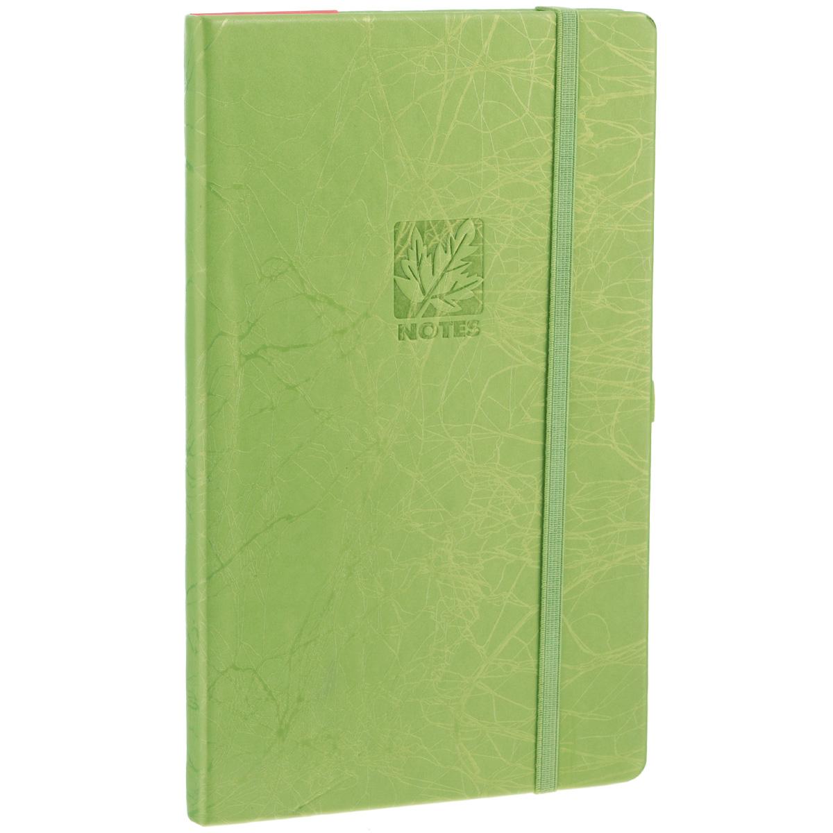 Записная книжка Erich Krause Scribble, цвет: оливковый, 96 листов36774Записная книжка Erich Krause Scribble - это дополнительный штрих к вашему имиджу. Демократичная в своем содержании, книжка может быть использована не только для личных пометок и записей, но и как недатированный ежедневник. Надежная твердая обложка из плотного картона, обтянутого искусственной кожей, сохранит ее в аккуратном состоянии на протяжении всего времени использования. Плотная в линейку бумага белого цвета, закладка-ляссе, практичные скругленные углы, эластичная петелька для ручки и внутренний бумажный карман на задней обложке - все это обеспечит вам истинное удовольствие от письма. В начале книжки имеется страничка для заполнения личных данных владельца, четыре страницы для заполнения адресов, телефонов и интернет-почты и четыре страницы для заполнения сайтов и ссылок. Благодаря небольшому формату книжку легко взять с собой. Записная книжка плотно закрывается при помощи фиксирующей резинки.