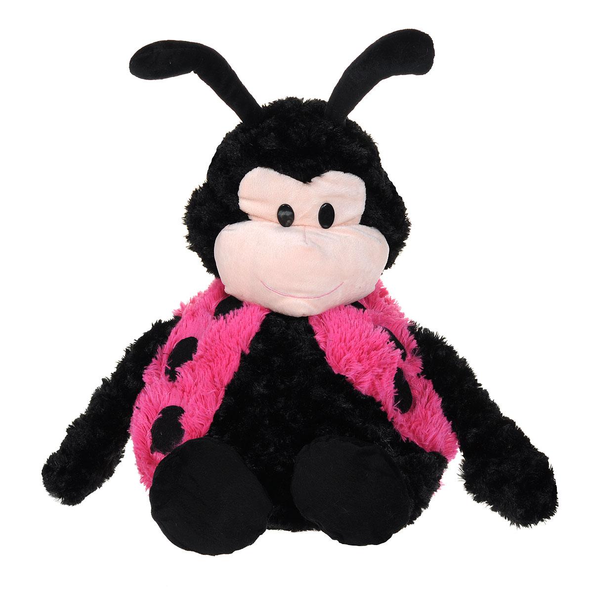 Мягкая игрушка-подушка Bradex Божья коровка, цвет: черный, розовый, бежевыйDE 0034Очаровательная мягкая игрушка-подушка Bradex Божья коровка не оставит равнодушным ни ребенка, ни взрослого. Приятная на ощупь игрушка выполнена из гипоаллергенного материала в виде милой божьей коровки с пластиковыми глазками. Уникальная конструкция мягкой игрушки позволяет в считанные минуты трансформировать ее из игрушки в подушку в виде домика. Достаточно всего лишь расстегнуть застежку-молнию, вывернуть игрушку и застегнуть обратно. Такая игрушка-подушка прекрасно дополнит интерьер детской комнаты. Возьмите эту уникальную игрушку с собой в дорогу и подарите вашему ребенку не только увлекательное времяпрепровождение с ней, но и здоровый сон.