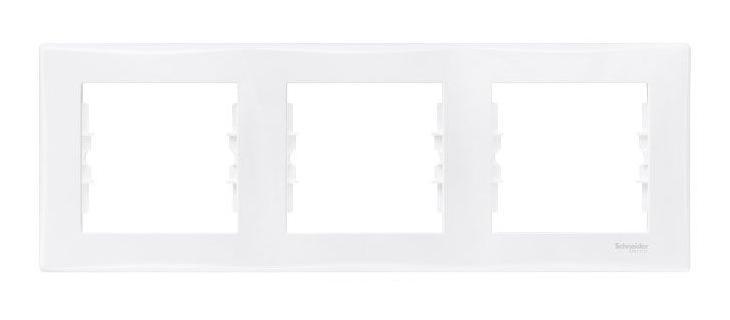 Рамка для встраиваемой розетки Schneider Sedna, тройная, горизонтальная, цвет: белыйSE SDN5800521Рамка Schneider Sedna используется для окантовки встраиваемой розетки. Серия электроустановочных изделий Sedna от Schneider Electric, в первую очередь, это современный дизайн и элегантная цветовая гамма, формирующие облик каждого отдельно взятого устройства. А сверхтонкий корпус лишь дополняет прочие преимущества.