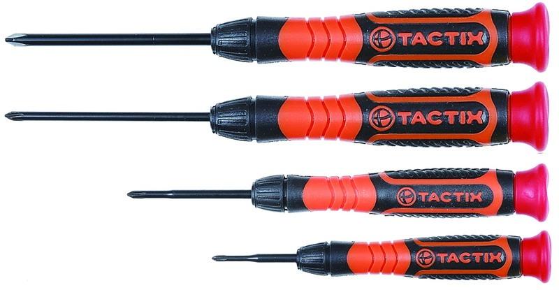 Набор отверток Tactix, 4 предмета. 545219