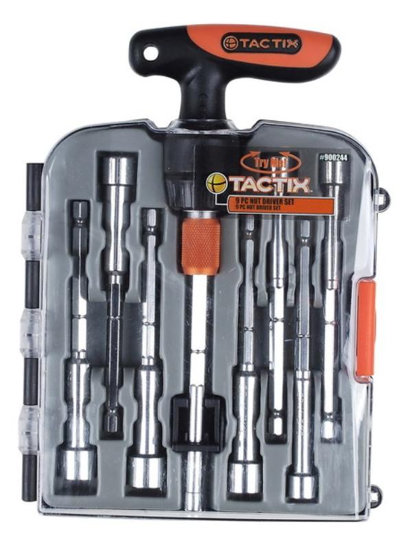 Набор инструментов Tactix, 9 предметов. 900244