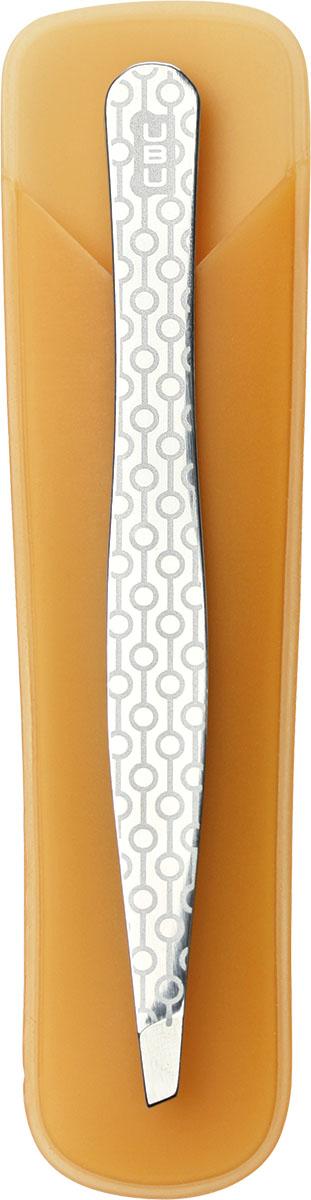 UBU Пинцет для бровей со скошенными кончиками. 19-500019-5000Ничто так не украшает, как выразительная четкая линия бровей. Профессионально ухоженные и аккуратно откорректированные брови, той формы, которую ты предпочитаешь. Соблазнительный изгиб придаст яркости и уникальности образу. Инструмент выполнен из 100% нержавеющей стали с ручной заточкой оформлен в индивидуальную яркую упаковку. Товар сертифицирован.