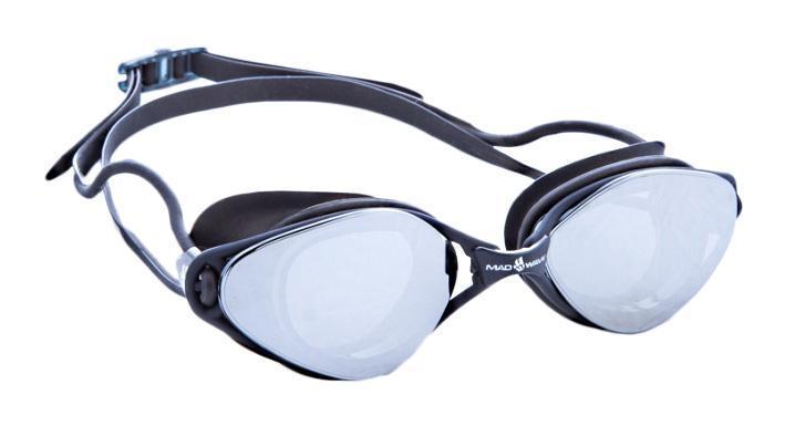 Очки для плавания Mad Wave Vision, цвет: черный10015329