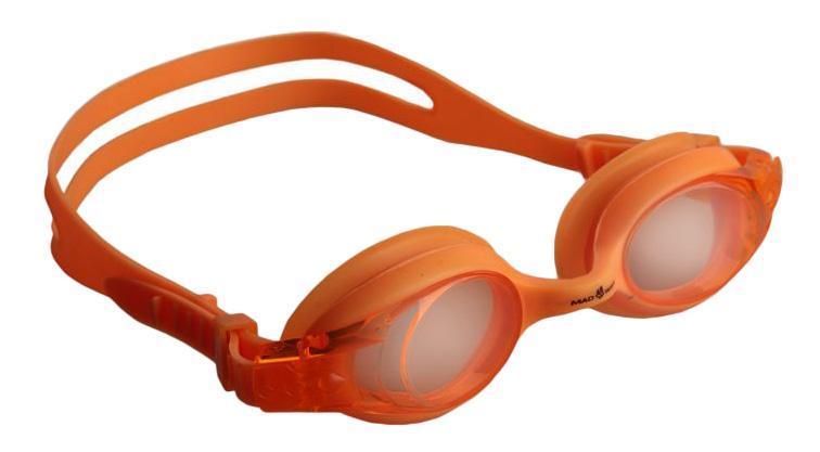 Очки для плавания MadWave Junior Autosplash, цвет: оранжевыйM0419 02 0 07WMadWave Junior Autosplash - удобные юниорские очки для водных видов спорта и отдыха. Система автоматической регулировки ремешков. Защита от ультрафиолетовых лучей. Антизапотевающие стекла. Линзы из поликарбоната. Вид переносицы — моноблок. Силиконовый обтюратор и ремешок. Характеристики: Цвет: оранжевый. Материал: поликарбонат, силикон. Размер наглазника: 5,5 см х 4 см. Изготовитель: Китай. Размер упаковки: 17 см х 6 см х 3 см.
