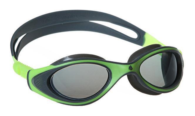 "MadWave Очки для плавания MadWave ""Junior Flame"", цвет: зеленый, серый"