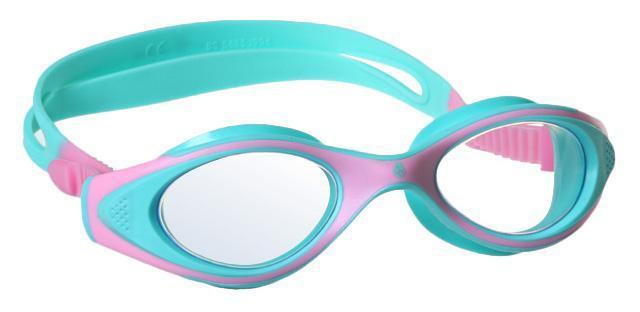 Очки для плавания MadWave Junior Flame, цвет: розовый, бирюзовыйM0411 04 0 11WУдобные классические юниорские очки для спорта и отдыха c автоматической системой регулировки ремешков на корпусе. Улучшенная антизапотевающая защита стекла благодаря внедрению антифога капиллярным способом. Защита от ультрафиолетовых лучей UV 400. Целлюлозополимерные линзы. Вид переносицы — моноблок. Рамка — полипропилен, обтюратор — термопластичная резина. Силиконовый ремешок. Комплектация: Очки. Чехол. Характеристики: Материал: силикон, пластик, резина. Размер очков: 15 см х 4 см. Цвет: розовый, бирюзовый. Размер упаковки: 17,5 см х 8 см х 6 см. Артикул: M0411 04 0 11W.