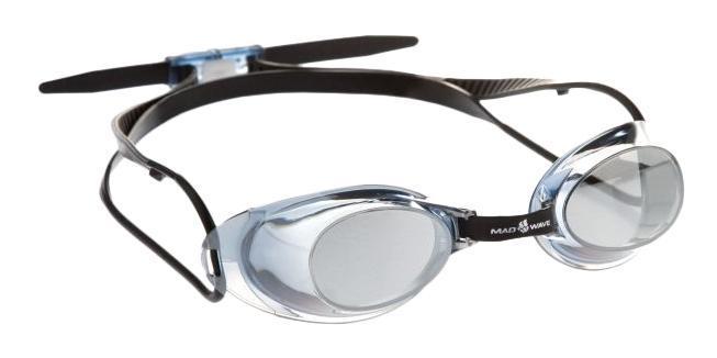 """Очки для плавания MadWave """"Liquid Racing Mirror"""", цвет: зеленый M0453 02 0 16W"""