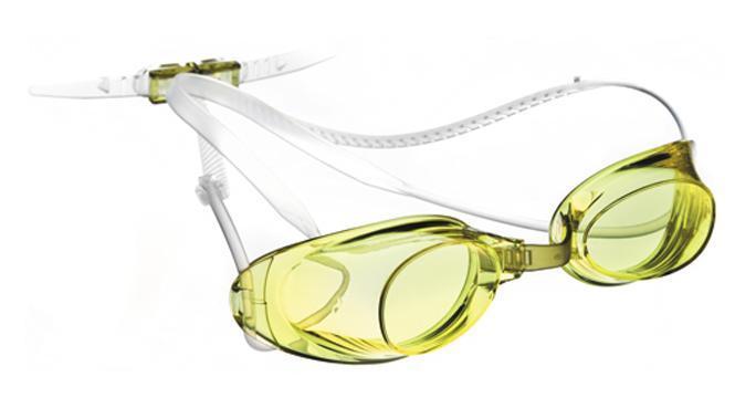 """Очки для плавания MadWave """"Liquid Racing"""", цвет: жёлтый M0453 01 0 06W"""