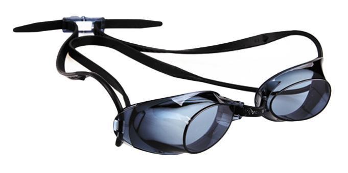 Очки для плавания MadWave Liquid Racing, цвет: синий, черный