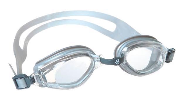 """Очки для плавания MadWave """"Predator"""", цвет: серебристый"""