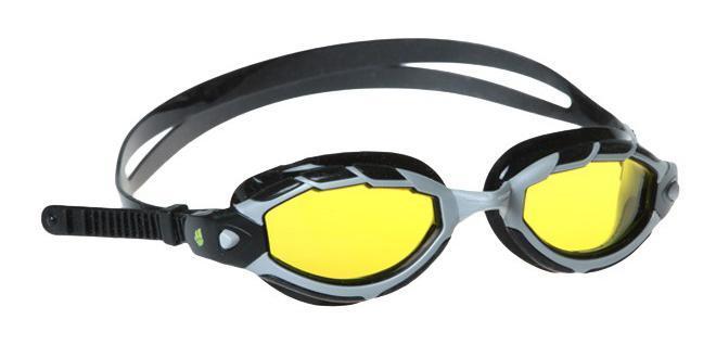 "Очки для плавания MadWave ""Shark"", цвет: желтый M0431 07 0 06W"