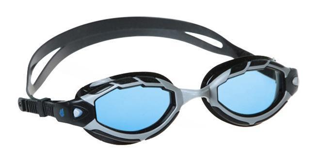 "MadWave Очки для плавания MadWave ""Shark"", цвет: синий"