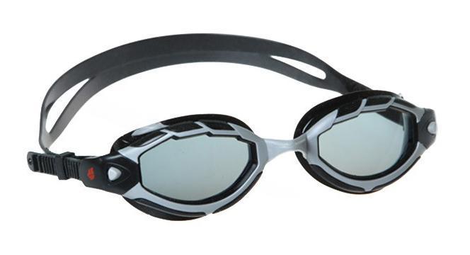 """MadWave Очки для плавания MadWave """"Shark"""", цвет: черный"""