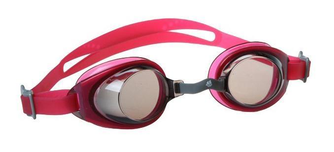 Очки для плавания MadWave Simpler II Junior, цвет: красныйM0411 07 0 05WMadWave Simpler II Junior - юниорские очки для повседневных тренировок. Удобная система регулировки ремешка. Защита от ультрафиолетовых лучей UV 400. Антизапотевающие стекла. Линзы из поликарбоната. Регулируемая мультиступенчатая переносица. Силиконовый обтюратор и ремешок. В комплекте удобный чехол.