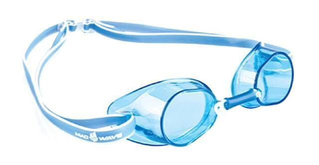 Очки для плавания стартовые MadWave Racer SW, цвет: синийM0455 03 0 03WКлассические стартовые очки MadWave Racer SW. Двойной силиконовый ремешок с затылочной клипсой для надёжной фиксации очков. Линзы из поликарбоната без обтюратора. Антизапотевающие стекла. Защита от ультрафиолетовых лучей. Настраиваемая индивидуально трубчатая переносица позволяет собрать очки под любой тип лица. Характеристики: Цвет: синий. Материал: поликарбонат, силикон. Размер наглазника: 6 см х 3,5 см. Изготовитель: Китай. Размер упаковки: 11 см х 9 см х 4 см.