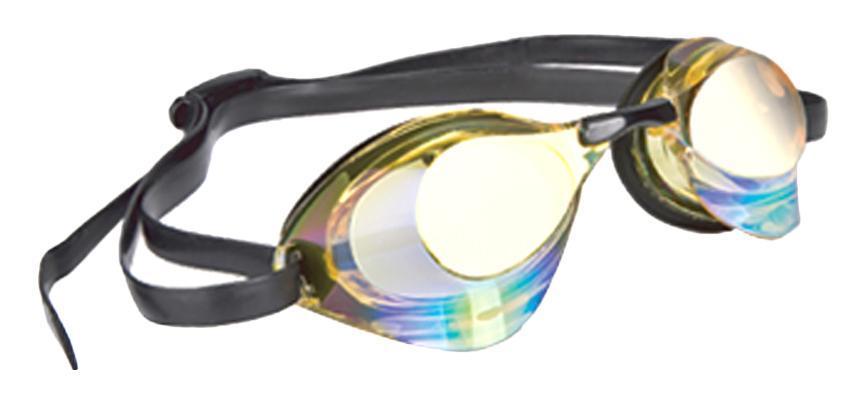 Очки для плавания стартовые MadWave Turbo Racer II Rainbow, цвет: желтыйM0458 06 0 06WОчки для плавания стартовые MadWave Turbo Racer II Rainbow с зеркальным покрытием, меняющим цвет. Гидродинамическая форма линз для уменьшения сопротивления. Низкопрофильный силиконовый обтюратор для комфорта. Двойной силиконовый ремешок с затылочной клипсой для надёжной фиксации очков. 3 сменных переносицы для идеальной настройки. Антизапотевающие линзы из поликарбоната с зеркальным покрытием и защитой от ультрафиолетовых лучей. Предназначены для тренировок и стартов. Характеристики: Цвет: желтый. Материал: поликарбонат, силикон. Размер наглазника: 6 см х 4 см. Изготовитель: Китай. Размер упаковки: 11 см х 9 см х 4 см.