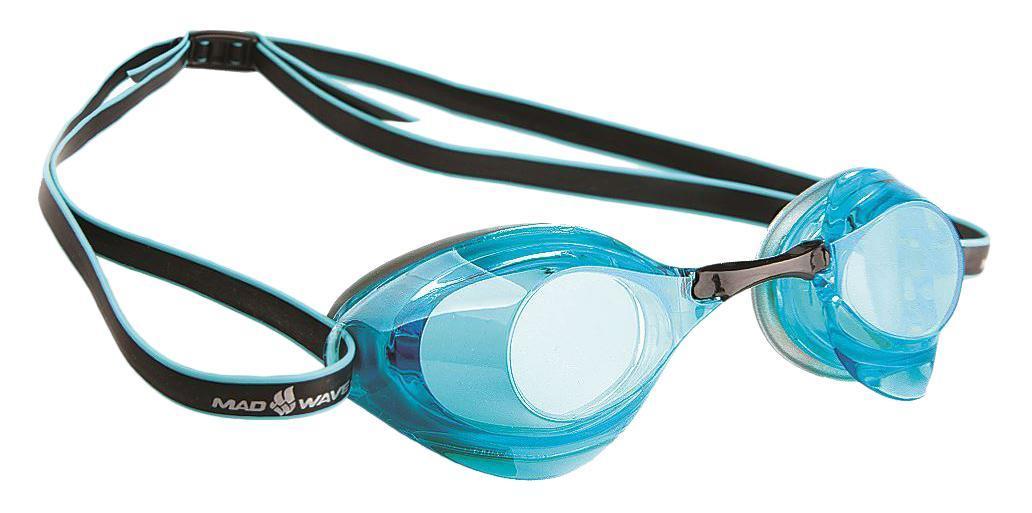 Очки для плавания стартовые MadWave Turbo Racer II, цвет: серый, голубойM0458 08 0 04WОчки для плавания стартовые MadWave Turbo Racer II. Гидродинамическая форма линз для уменьшения сопротивления. Низкопрофильный силиконовый обтюратор для комфорта. Двойной силиконовый ремешок с затылочной клипсой для надёжной фиксации очков. 3 сменных переносицы для идеальной настройки. Антизапотевающие линзы из поликарбоната с защитой от ультрафиолетовых лучей. Предназначены для тренировок и стартов. Характеристики: Цвет: серый, голубой. Материал: поликарбонат, силикон. Размер наглазника: 6 см х 4 см. Изготовитель: Китай. Размер упаковки: 11 см х 9 см х 4 см.