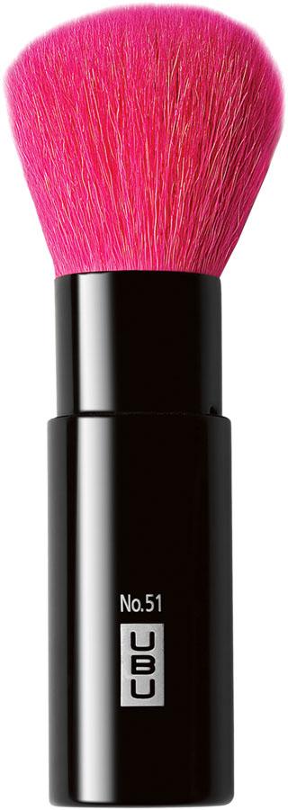 UBU Кисть для пудры, выкручивающаяся, №51. 19-505019-5050Универсальный инструмент для создания безупречного макияжа! Благодаря выдвижному футляру, вы можете всегда носить ее с собой, не опасаясь повреждений и загрязнений. Снимите крышку, вставьте в нее рукоятку, и кисть выдвинется, готовая к нанесению пудры, тональной основы, бронзантов и шиммеров. После использования, задвиньте кисть, потянув крышку вниз, и помести крышку на место. Товар сертифицирован.