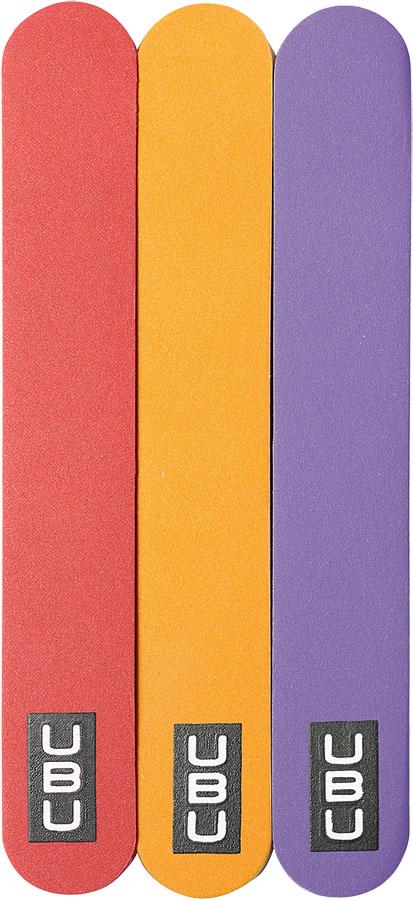 UBU Полировка для ногтей, 3 шт. 19-5076