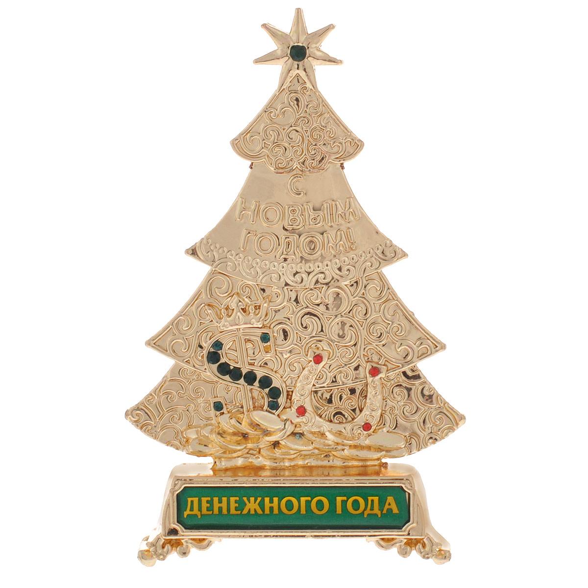 Новогодняя декоративная фигурка Sima-land Елка Денежного года
