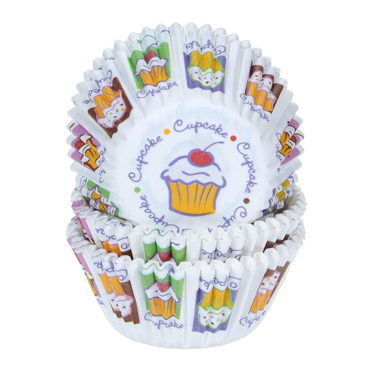 Набор бумажных мини-форм для кексов Wilton