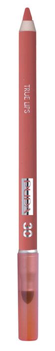 PUPA Карандаш для губ с аппликатором True Lips Pencil тон №30 абрикосовый, 1.2 г025630Контурный карандаш для губ с аппликатором для растушёвки True Lips очерчивает губы, придавая им контур, с помощью яркого насыщенного цвета. Мягкая, пластичная и очень приятная текстура позволяет идеально прорисовывать контур губ. Очень легко наносится и даёт возможность двойного применения: - самостоятельное использование карандаша на всей поверхности губ для создания изысканного матового эффекта. - применение карандаша перед нанесением помады для увеличения её стойкости. Цветовая гамма состоит из 16 восхитительных оттенков, которые идеально подходят для одновременного применения с помадами Im.
