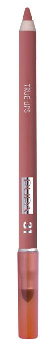 PUPA Карандаш для губ с аппликатором True Lips Pencil тон 31 коралловый, 1.2 г025631Контурный карандаш для губ с аппликатором для растушёвки True Lips очерчивает губы, придавая им контур, с помощью яркого насыщенного цвета. Мягкая, пластичная и очень приятная текстура позволяет идеально прорисовывать контур губ. Очень легко наносится и даёт возможность двойного применения: - самостоятельное использование карандаша на всей поверхности губ для создания изысканного матового эффекта. - применение карандаша перед нанесением помады для увеличения её стойкости. Цветовая гамма состоит из 16 восхитительных оттенков, которые идеально подходят для одновременного применения с помадами Im.