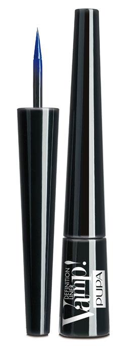 PUPA Подводка для глаз тон 301 с фетровым аппликатором VAMP! DEFINITION LINER, Синий электрик,2,5 мл.040037301Подводка для глаз с фетровым аппликатором. Vamp! Definition Liner оставляет чёткую линию необыкновенно насыщенного цвета. Мягкий фетровый кончик обеспечивает безупречное равномерное нанесение. Жидкая и лёгкая формула быстро высыхает.6 ультра-гламурных оттенков с двумя эффектами: матовый и перламутровый.