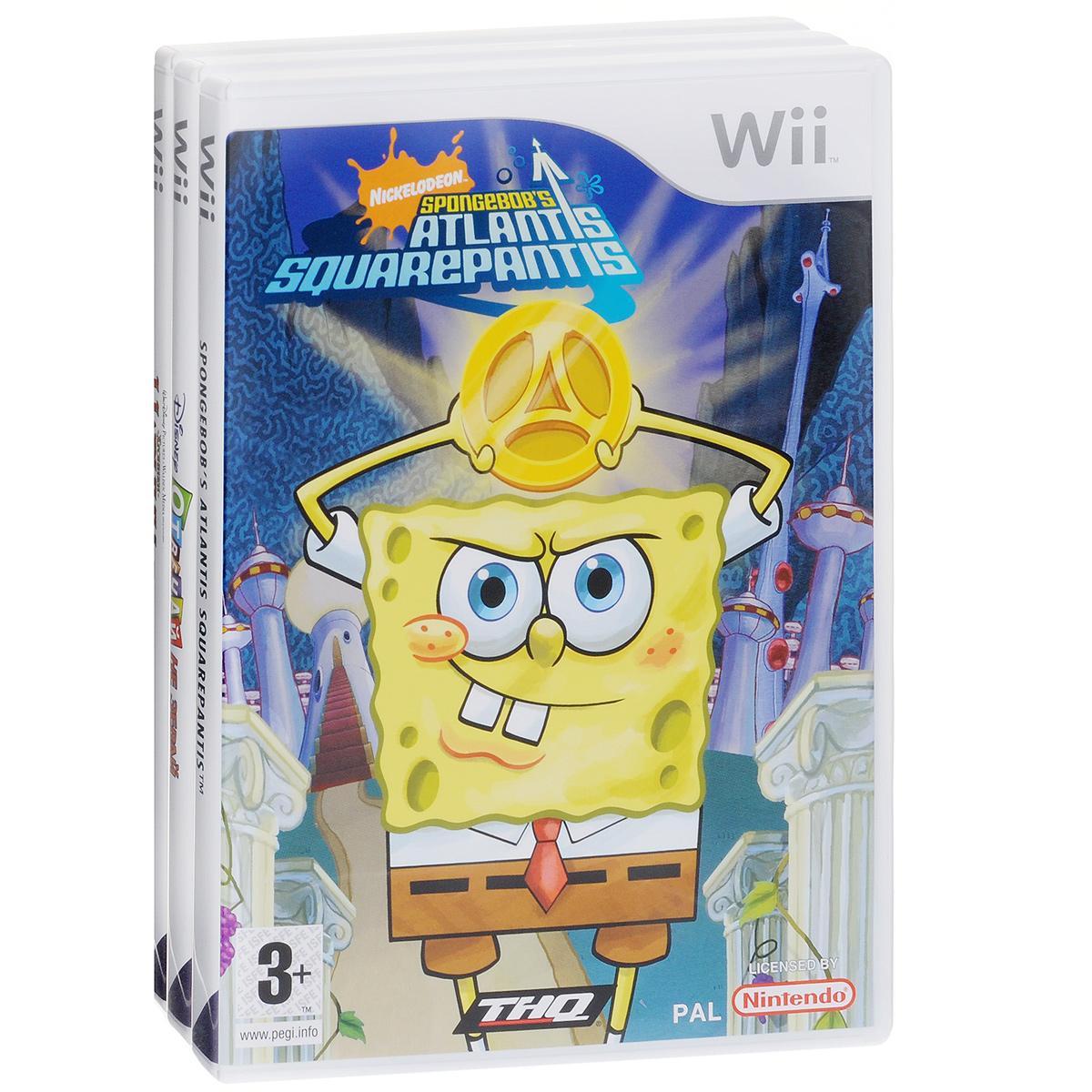 Комплект из 3-х игр Wii №3