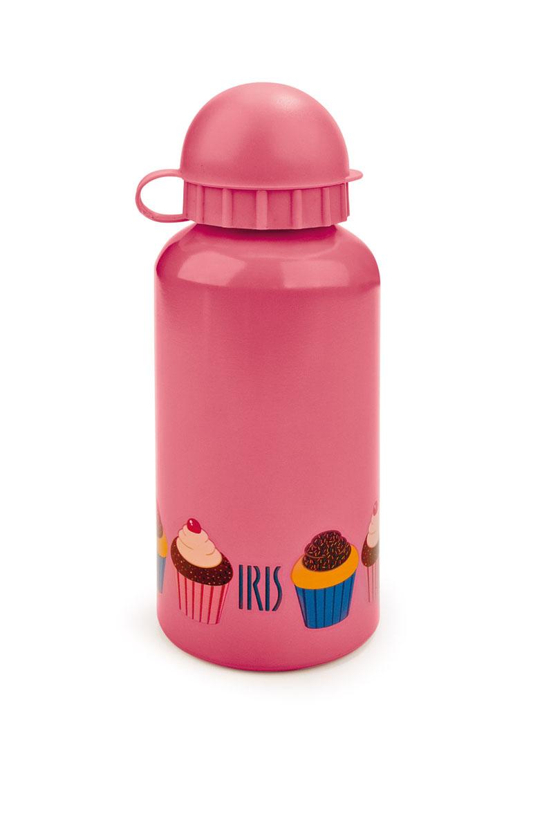 Фляжка алюминиевая Iris Snack Rico, цвет: розовый, 400 мл8001-AMФляжка Iris Snack Rico изготовлена из алюминия и оснащена прочной пластиковой крышкой-непроливайкой. Веселые расцветки на корпусе радуют глаз и поднимают настроение. Фляжка легкая, герметичная и устойчивая, а компактные размеры позволят взять ее с собой куда угодно. Прекрасный вариант для детей.