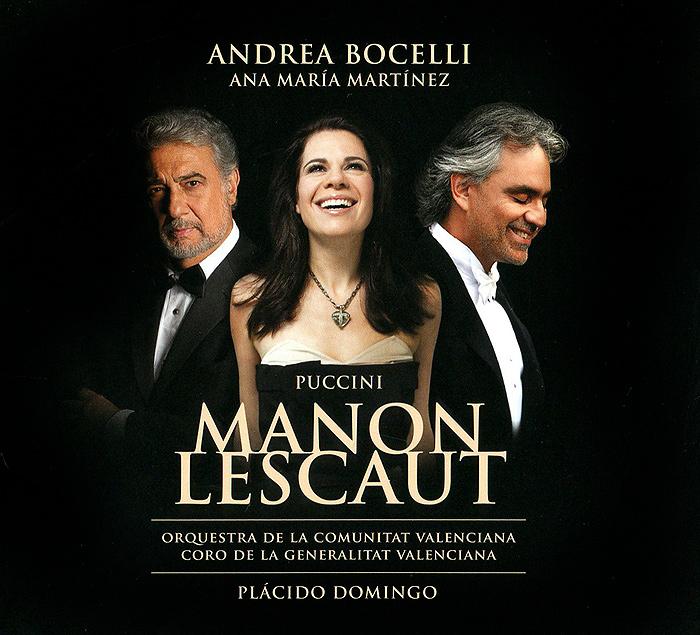 Zakazat.ru: Andrea Bocelli, Anna Maria Martinez, Placido Domingo. Puccini: Manon Lescaut (2 CD)