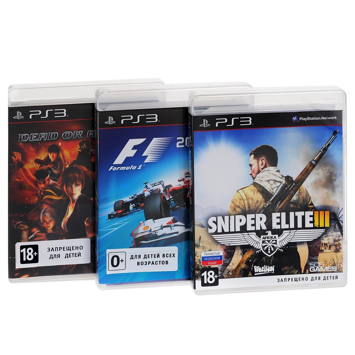 505 Games, Codemasters Racing, Koei Tecmo Games Игровой MegaMix №1 (PS3)
